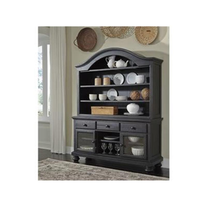 Ashley Furniture Glosco Kitchen Hutch: D635-61 Ashley Furniture Sharlowe