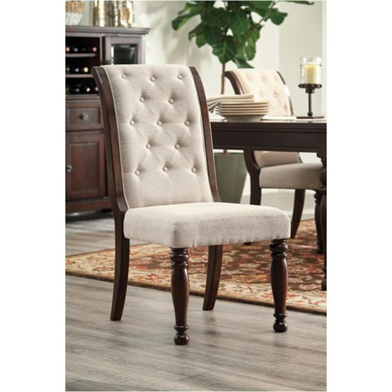 Ashley Furniture Tables And Chairs: D697-04 Ashley Furniture Dining Upholstered Side Chair
