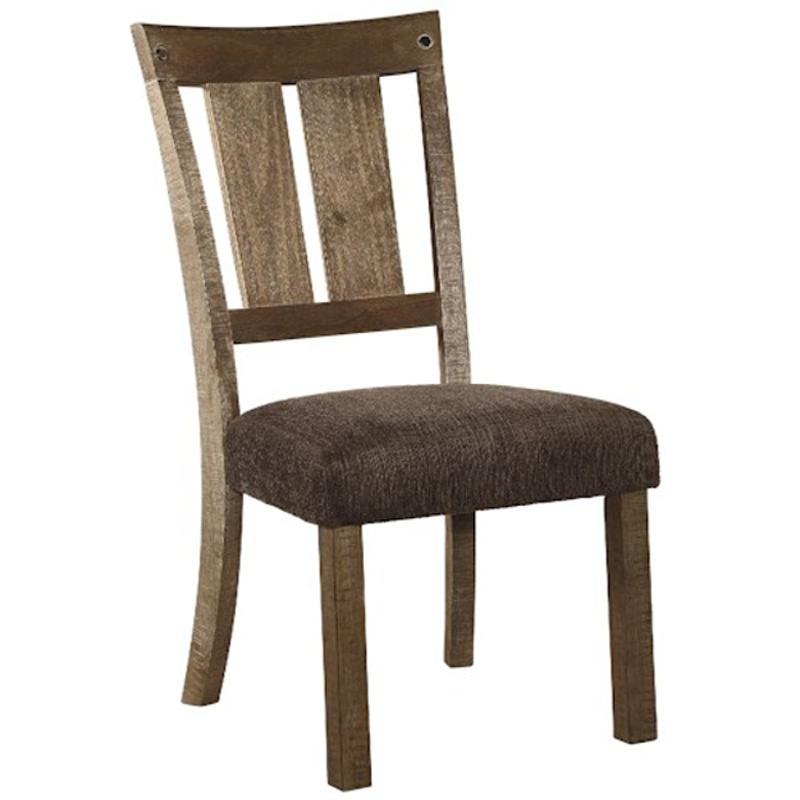 Ashley Furniture Tamilo Gray Brown Dining Room Server: D714-01 Ashley Furniture Dining Upholstered Side Chair