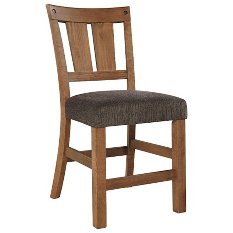 Ashley Furniture Tamilo Gray Brown Dining Room Server: D714-124 Ashley Furniture Upholstered Barstool