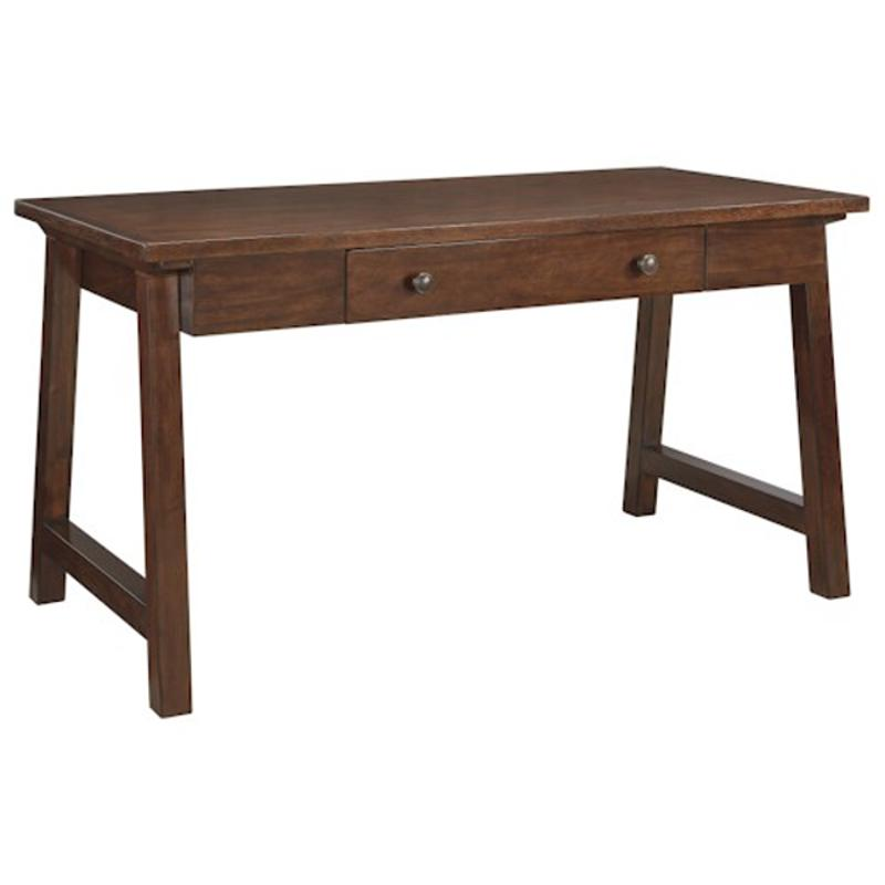 H584-44 Ashley Furniture Home Office Large Leg Desk