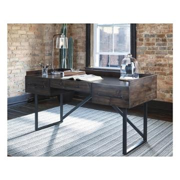 H633 27 Ashley Furniture Starmore Brown Home Office Desk