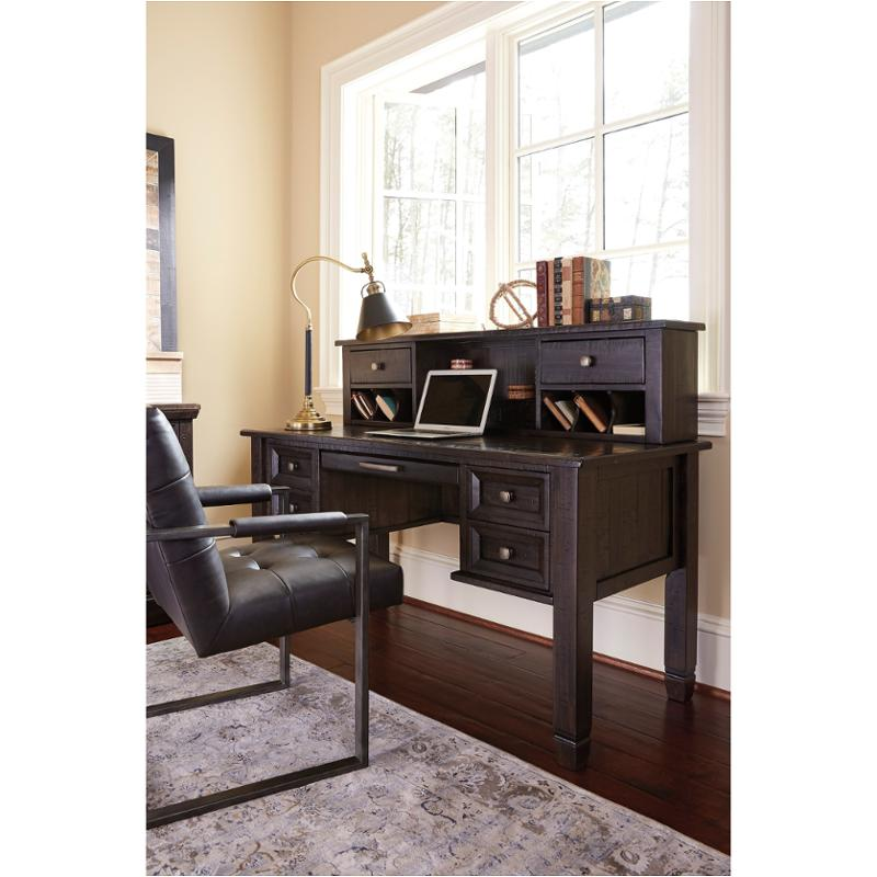 H636 48 Ashley Furniture Townser   Grayish Brown Home Office Desk