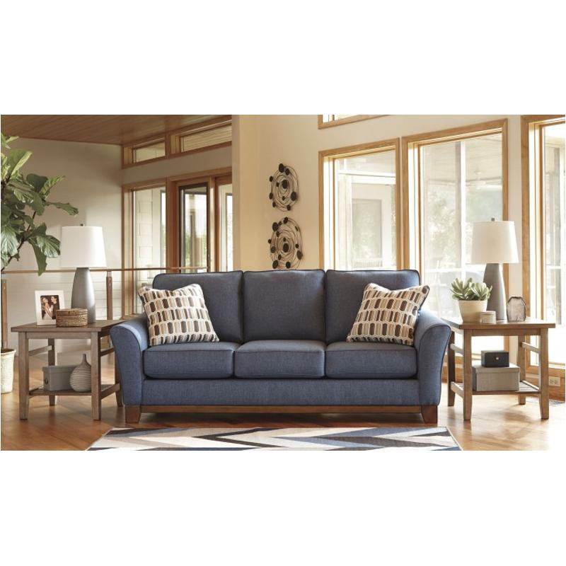Exceptionnel 4380738 Ashley Furniture Janley   Denim Living Room Sofa