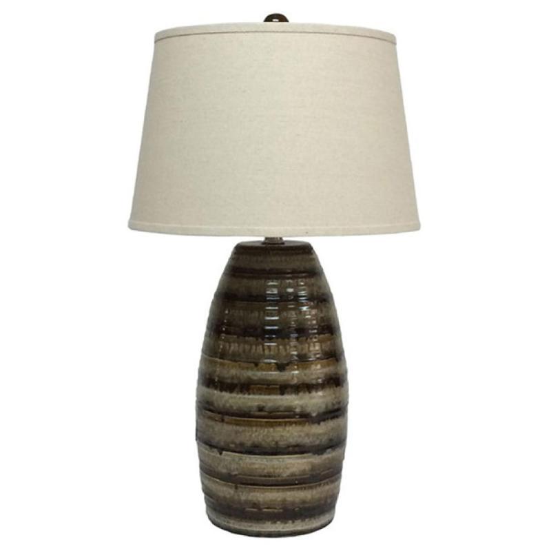 L100514 Ashley Furniture Accent Lighting Ceramic Table Lamp