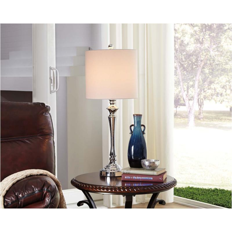 L204004 Ashley Furniture Accent Lighting Metal Table Lamp
