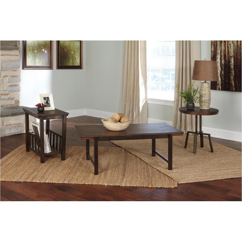 T049 13 Ashley Furniture Banilee Living Room Occasional: T212-13 Ashley Furniture Occasional Table Set