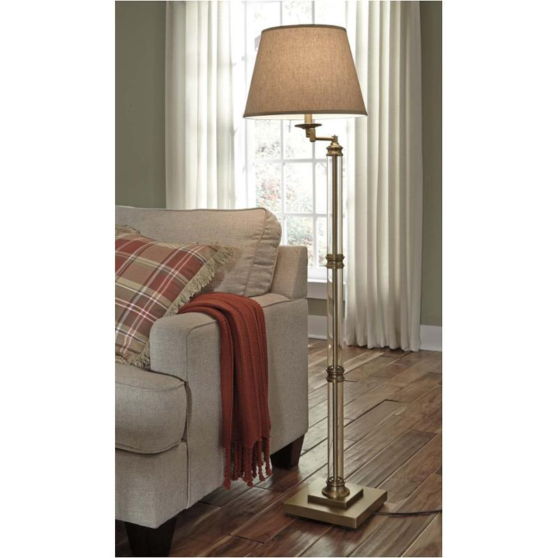 L734181 ashley furniture accent lighting glass floor lamp l734181 ashley furniture accent lighting aloadofball Images