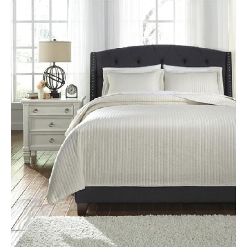 Q493003k Ashley Furniture Raleda Buff Bedding King