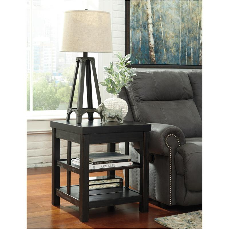 Ashley Mallacar Piece Coffee Table Set In Black T: T752-2 Ashley Furniture Gavelston