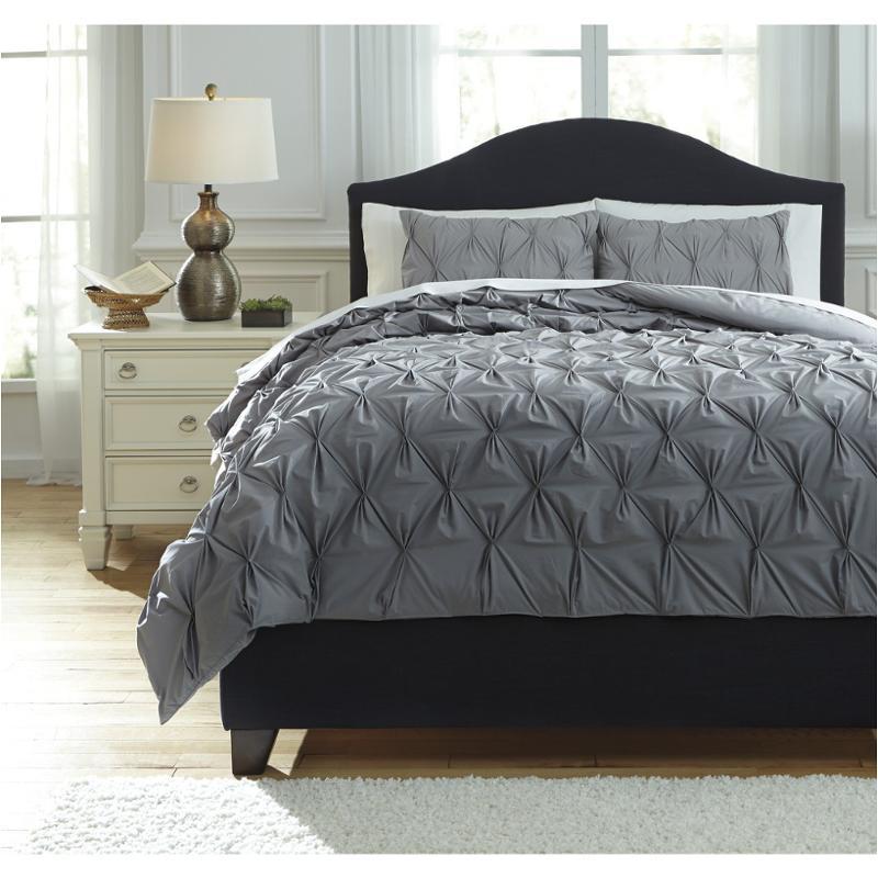 linens br gray comforter merritt lin pc product set queen