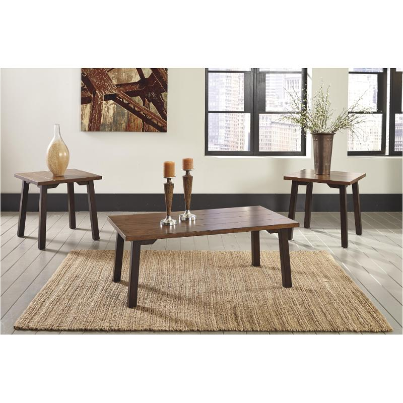 T049 13 Ashley Furniture Banilee Living Room Occasional: T205-13 Ashley Furniture Occasional Table Set