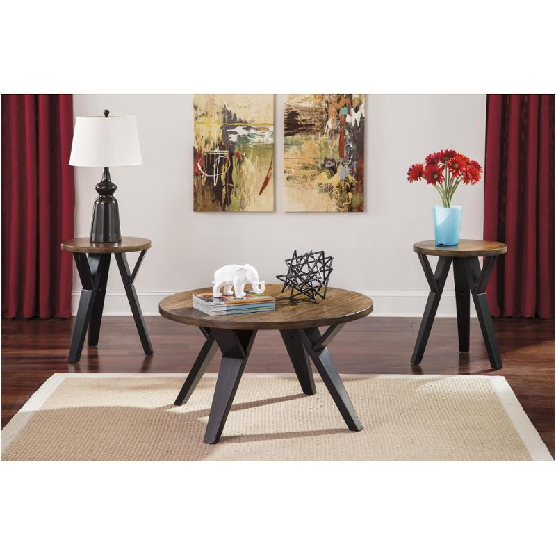 T049 13 Ashley Furniture Banilee Living Room Occasional: T267-13 Ashley Furniture Occasional Table Set