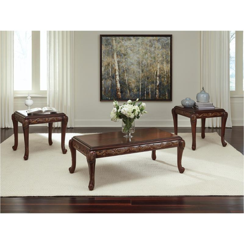 T562-13 Ashley Furniture Occasional Table Set