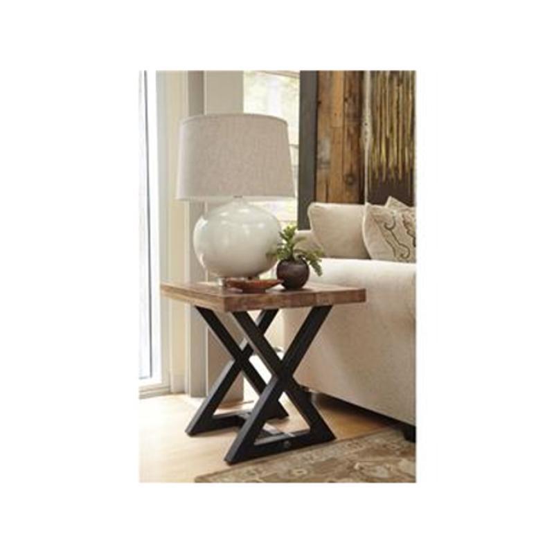 T Ashley Furniture Wesling Living Room Square End Table - Ashley furniture wesling coffee table