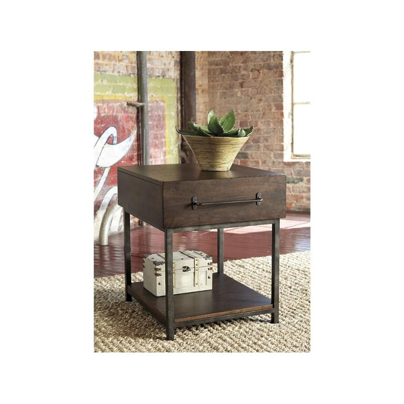 T913 3 ashley furniture starmore brown rectangular end table for Starmore ashley furniture bedroom