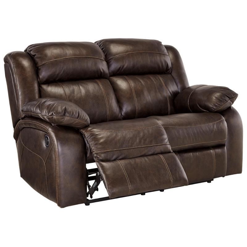 Stupendous U7190186 Ashley Furniture Branton Antique Reclining Loveseat Bralicious Painted Fabric Chair Ideas Braliciousco