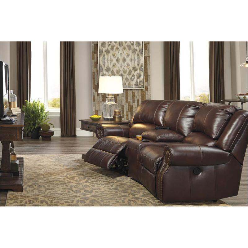 Superbe U7210058 Ashley Furniture Collinsville   Chestnut Laf Zero Wall Power  Recliner