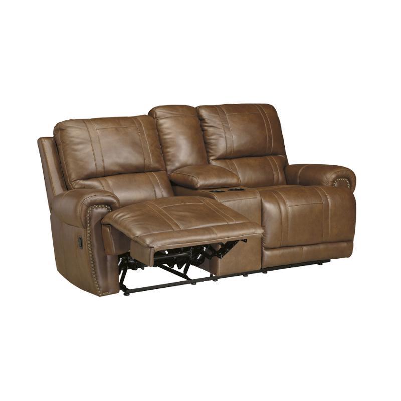 Peachy U7590096 Ashley Furniture Paron Vintage Double Recline Power Loveseat With Console Machost Co Dining Chair Design Ideas Machostcouk