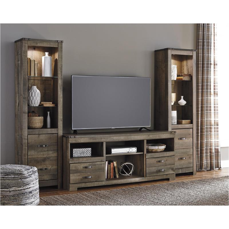 W446 24 Ashley Furniture Trinell Brown Tall Pier