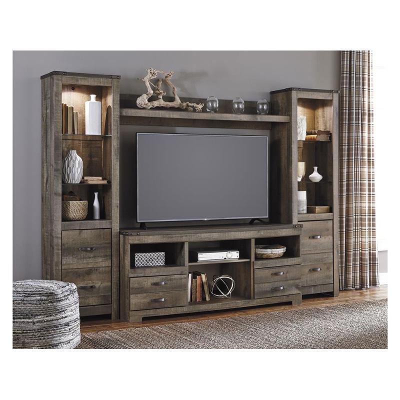W446 27 Ashley Furniture Trinell Brown Bridge
