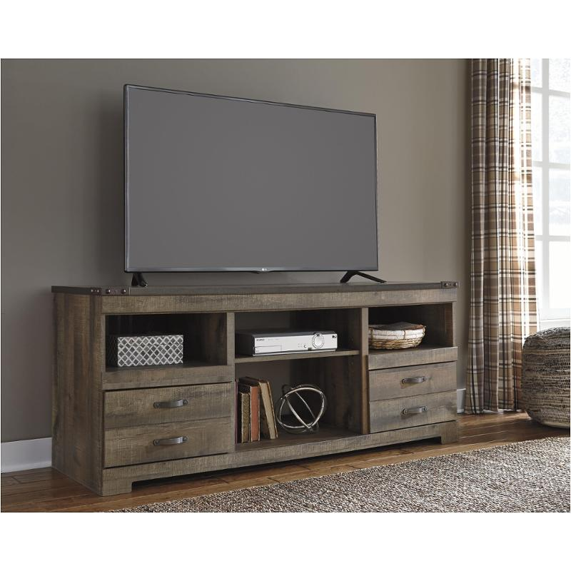 W446 68 Ashley Furniture Trinell Brown Living Room Tv Console