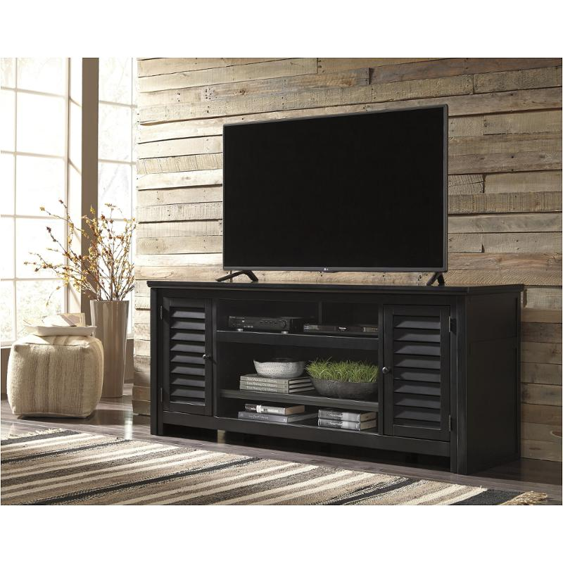W661 48 Ashley Furniture Brasenhaus Black Extra Large Tv Stand