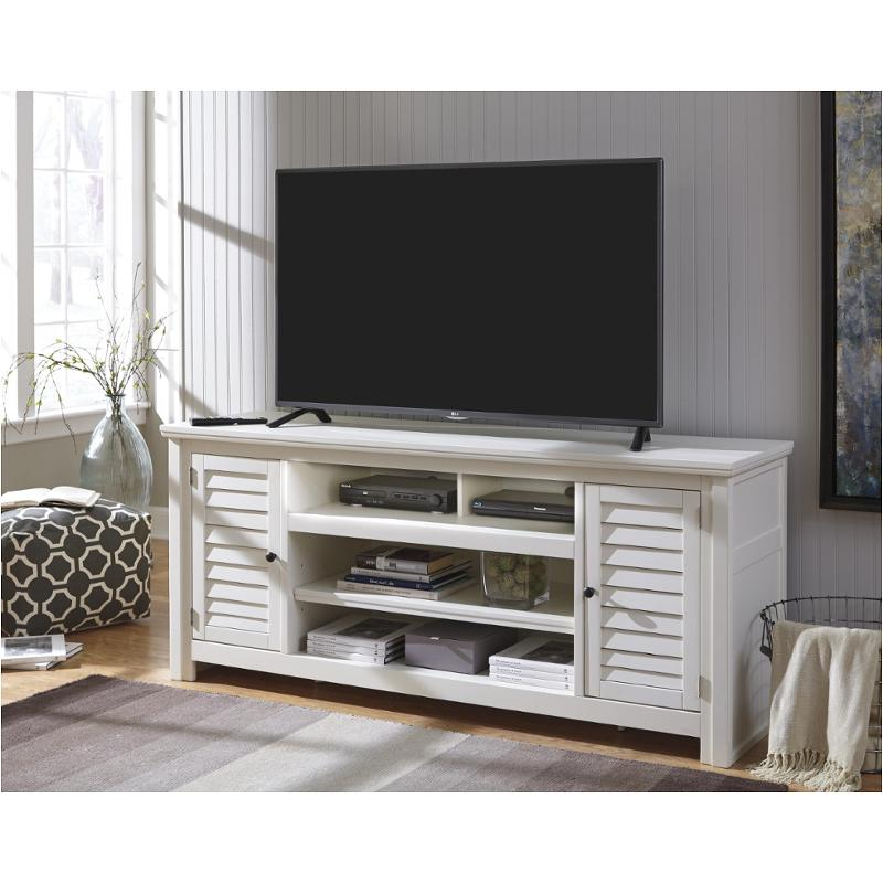 W662 48 Ashley Furniture Idonburg White Home Entertainment Tv Console