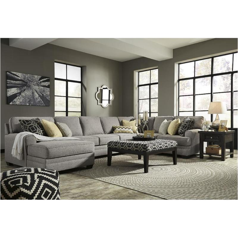 Ashley sectional delta city ashley furniture sectionals for Ashley lucia sofa chaise