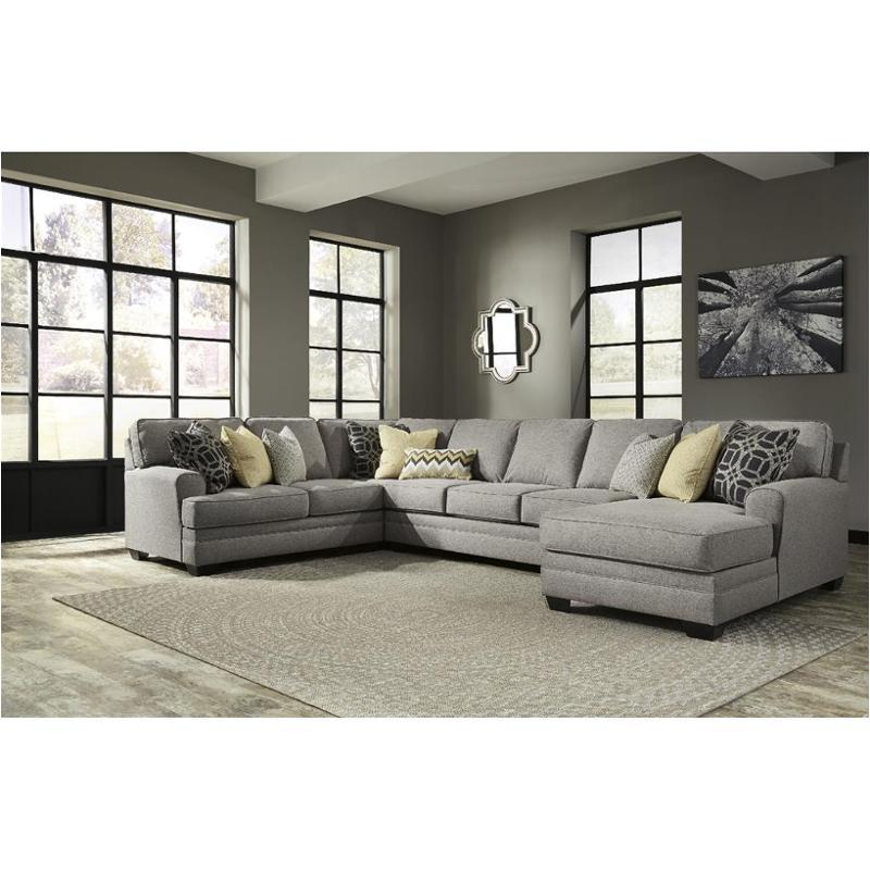 5490717 Ashley Furniture Cresson - Pewter Raf Corner Chaise