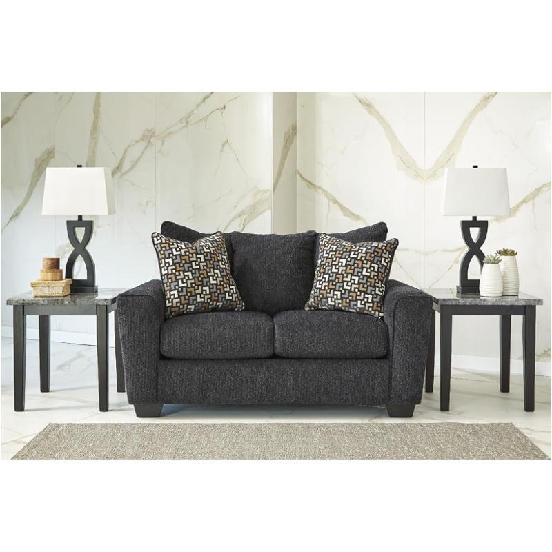 5700235 Ashley Furniture Wixon   Slate Living Room Loveseat