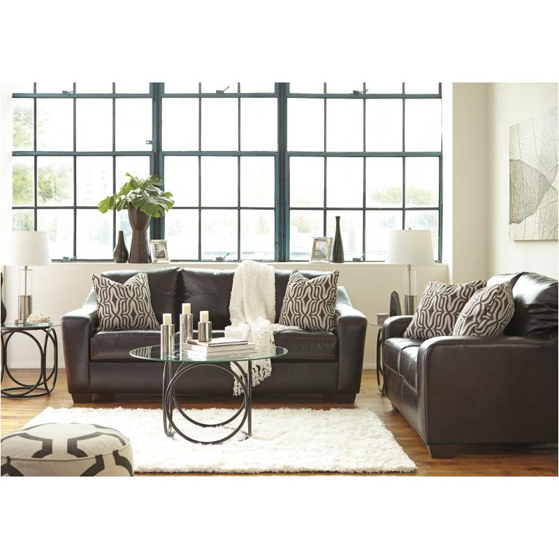 5900138 Ashley Furniture Coppell Durablend   Chocolate Living Room Sofa