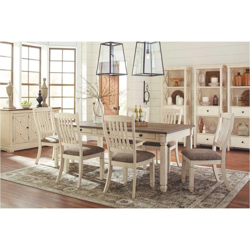 D647 25 Ashley Furniture Bolanburg Rectangular Dining Room Table Two Tone