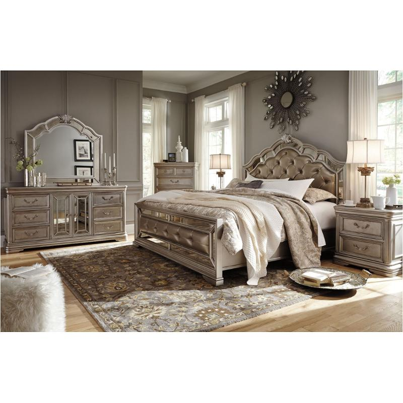 Ashley Furniture California: B720-58 Ashley Furniture King/california King Upholstered Bed