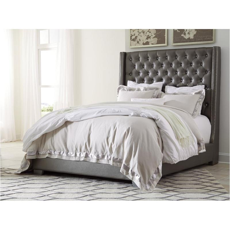 B650-78 Ashley Furniture Coralayne - Silver King/california King  Upholstered Bed