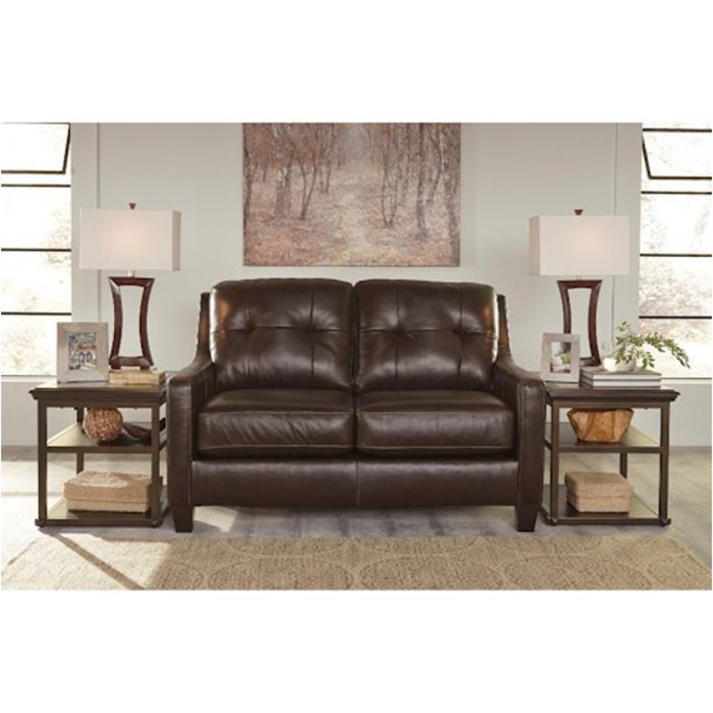 5910535 Ashley Furniture O Kean Living Room Loveseat Mahogany