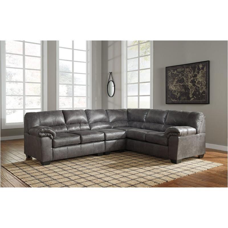 1200146 Ashley Furniture Bladen Slate Living Room Armless Chair