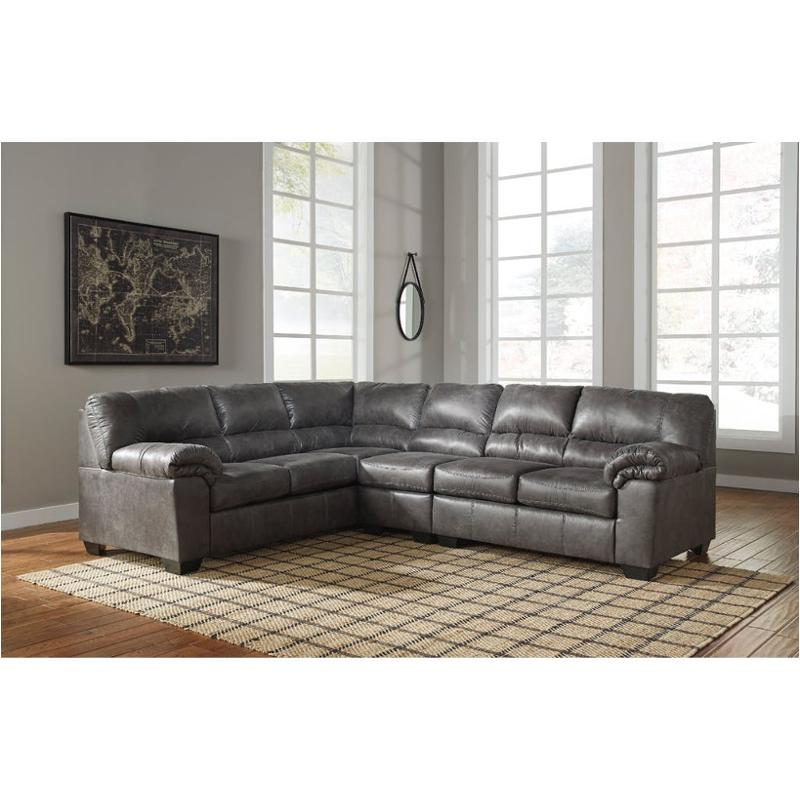 1200166 Ashley Furniture Bladen Slate Living Room Laf Sofa