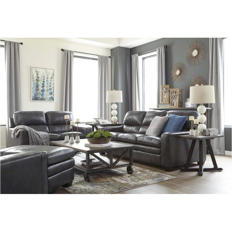 1570238 Ashley Furniture Gleason Charcoal Living Room Sofa