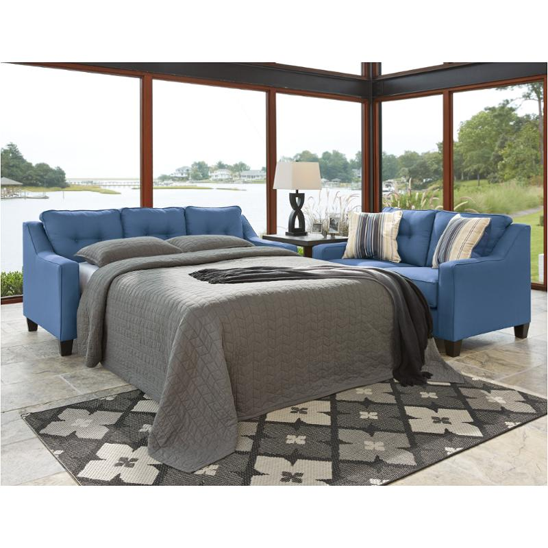 Strange 6870368 Ashley Furniture Aldie Nuvella Queen Sofa Chaise Sleepe Bluer Home Interior And Landscaping Ologienasavecom