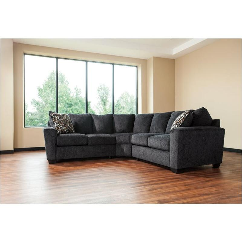 Miraculous 5700255 Ashley Furniture Wixon Slate Laf Loveseat Machost Co Dining Chair Design Ideas Machostcouk