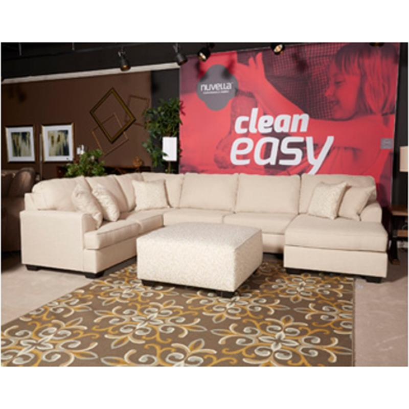 6230567 Ashley Furniture Brioni Nuvella Sand Living Room Sofa