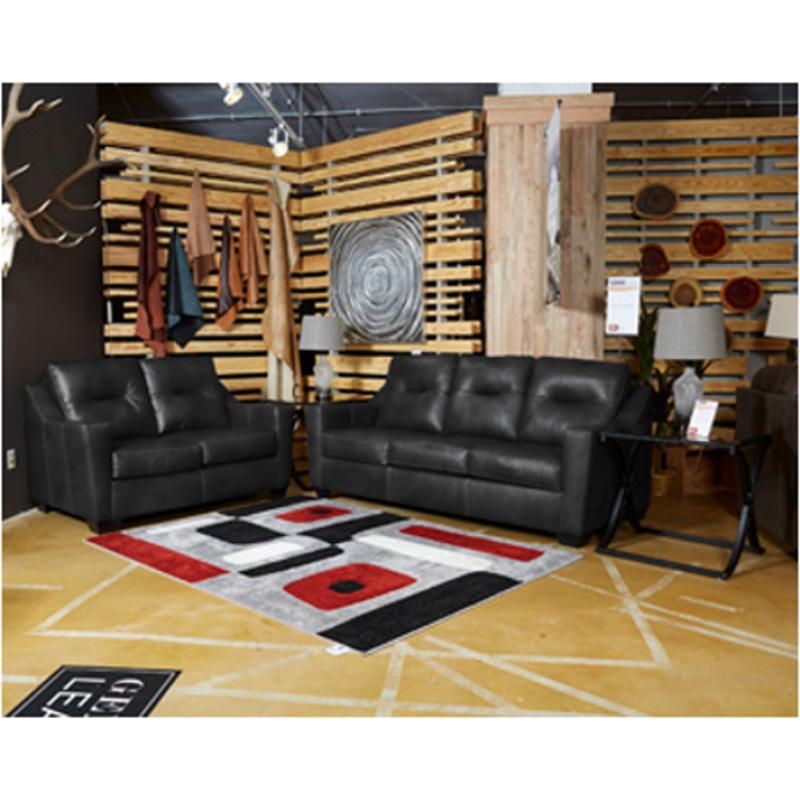 Magnificent 6390639 Ashley Furniture Kensbridge Black Queen Sofa Sleeper Machost Co Dining Chair Design Ideas Machostcouk