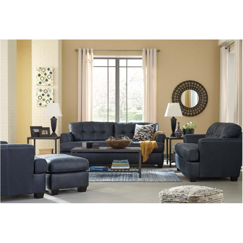 6580638 ashley furniture inmon navy living room sofa rh homelivingfurniture com