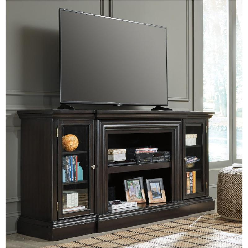 W371 68 Ashley Furniture Carlyle Xl Tv Stand W Fireplace Option