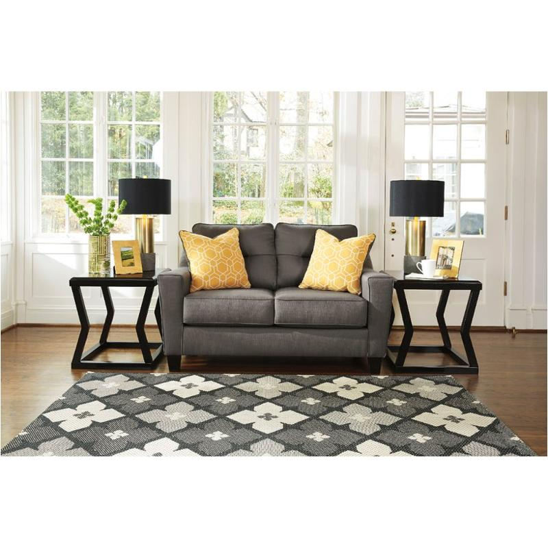 Ashley Furniture Forsan Nuvella Gray Queen Sofa Sleeper: 6690235 Ashley Furniture Forsan Nuvella