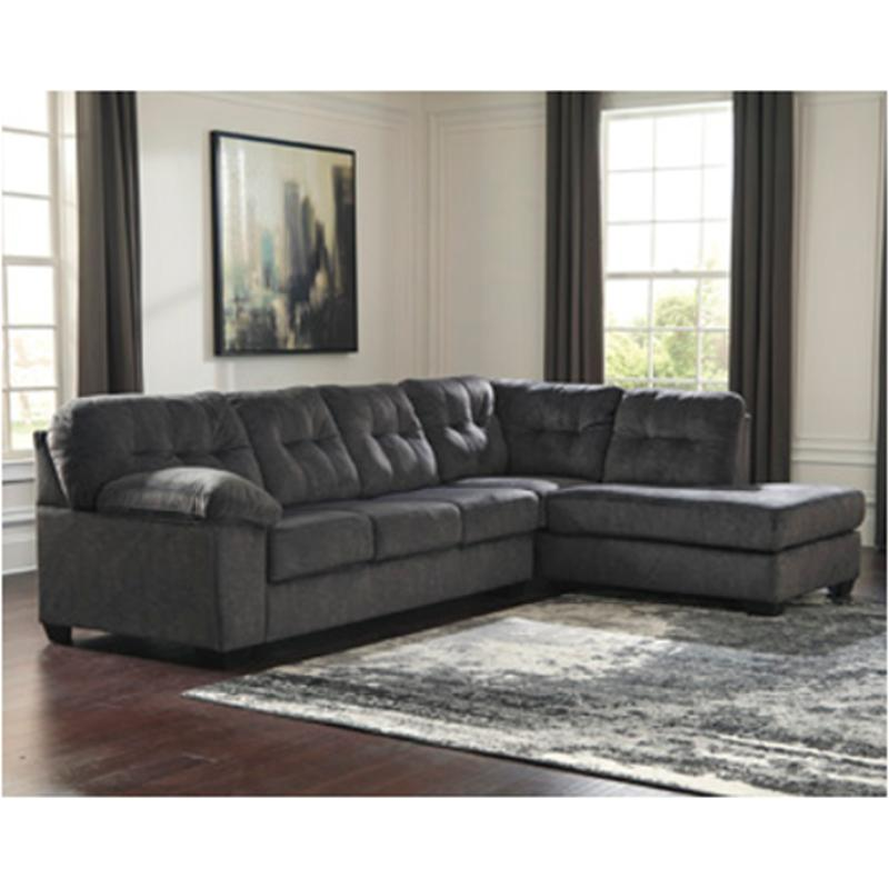 7050966 Ashley Furniture Accrington Granite Laf Sofa