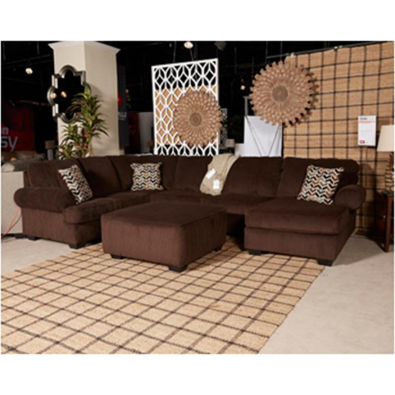 7250166 Ashley Furniture Jinllingsly - Chocolate Laf Sofa