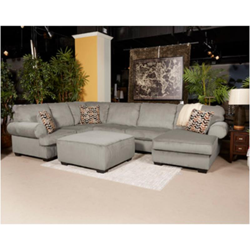 Incredible 7250234 Ashley Furniture Jinllingsly Gray Armless Loveseat Beutiful Home Inspiration Cosmmahrainfo