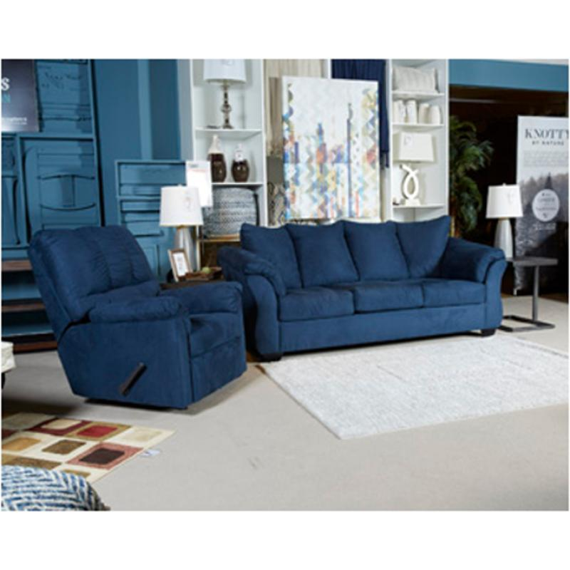 7500736 Ashley Furniture Darcy Blue Full Sofa Sleeper